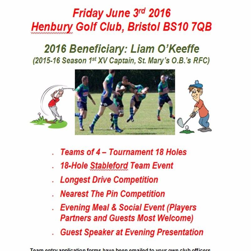 Inaugural Annual Charity Golf Tournament