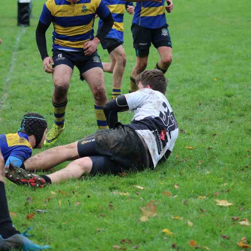Burton RFC U16s vs Barkers Butts RFC U16s 20/11/2016