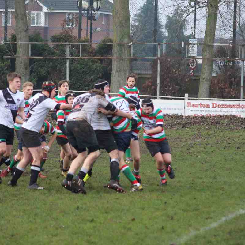 Burton RFC U16s vs Lutterworth RFC U16s 08/01/2017