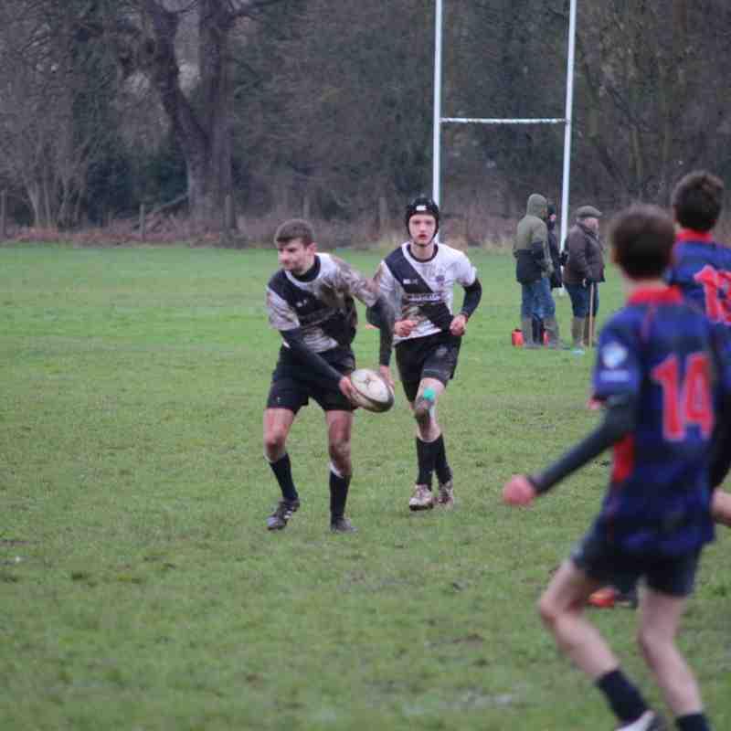 Burton RFC u16s vs Stoke RFC U16s