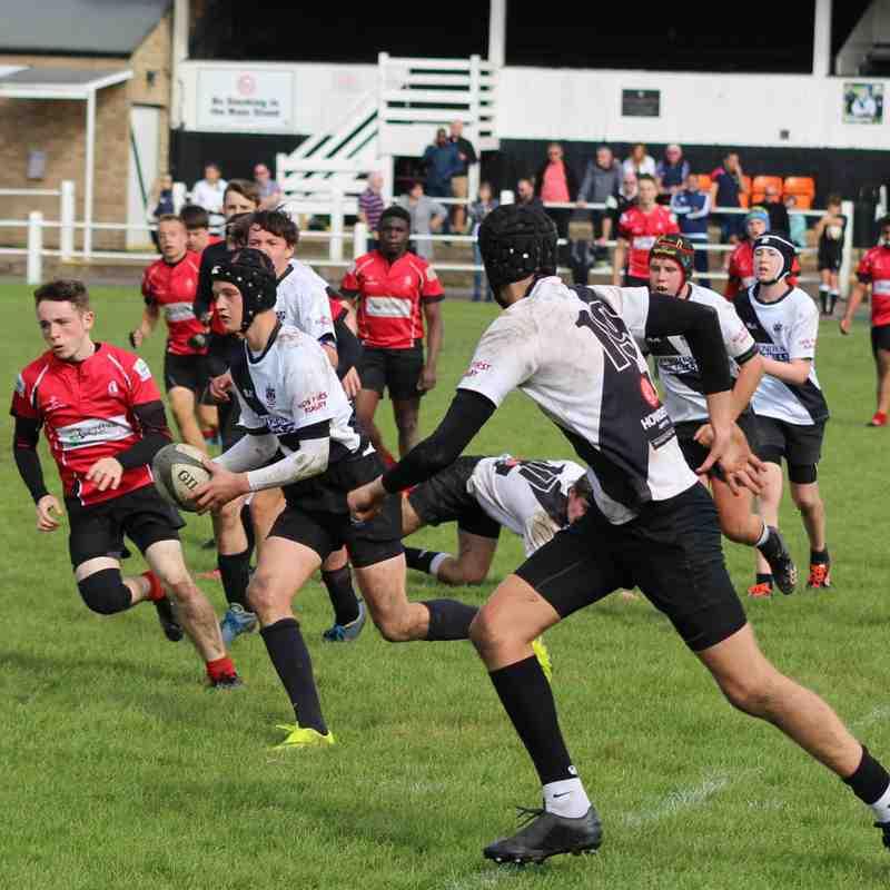 Burton RFC U16s vs Walsall RFC U16s