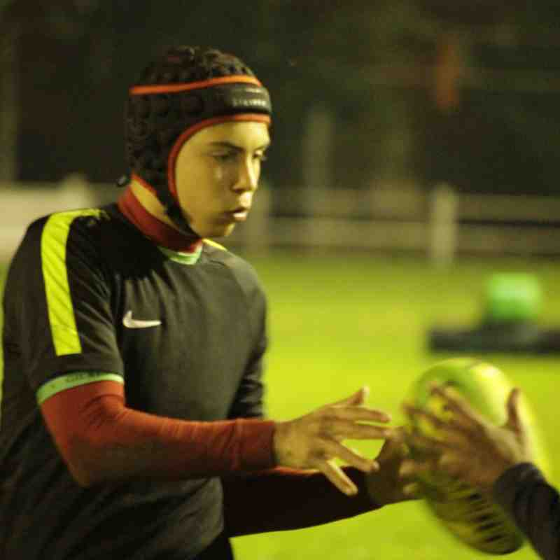 Tackle training evening 21/09/2016