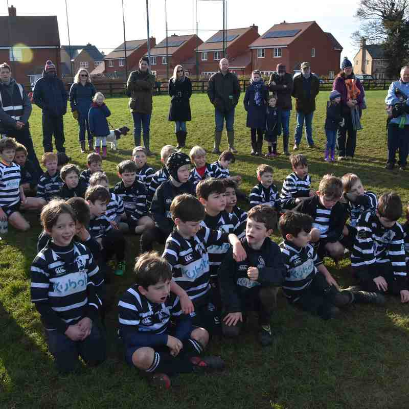 Chinnor RFC U9 v Buckingham 19 Nov 17