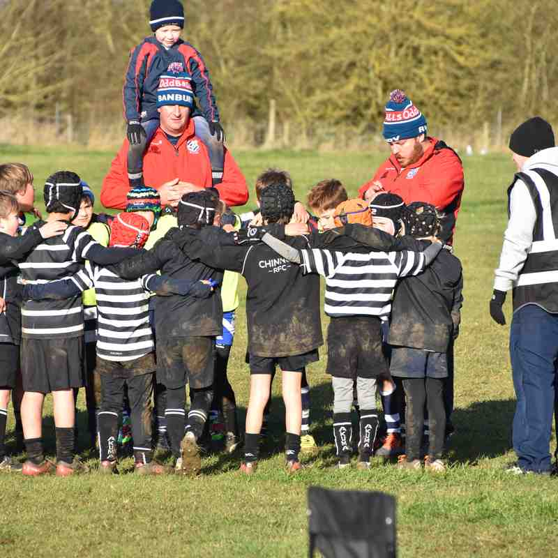 Chinnor U9 v Banbury 26 Nov 17