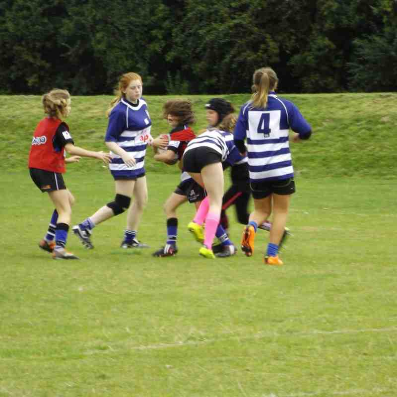 Girls Rugby Festival 20/9/15