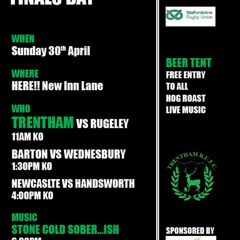 Staffordshire Presidents Day & County Finals