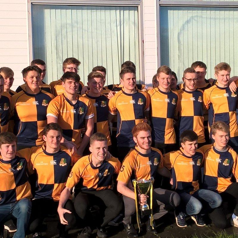 Strathaven RFC & East Kilbride RFC U18's win the league