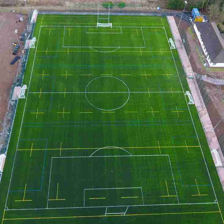 3G Pitch from above