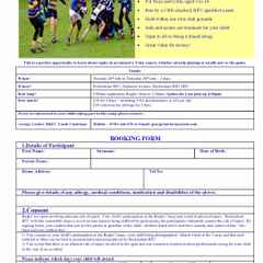 Summer Rugby Camp 26-28 July