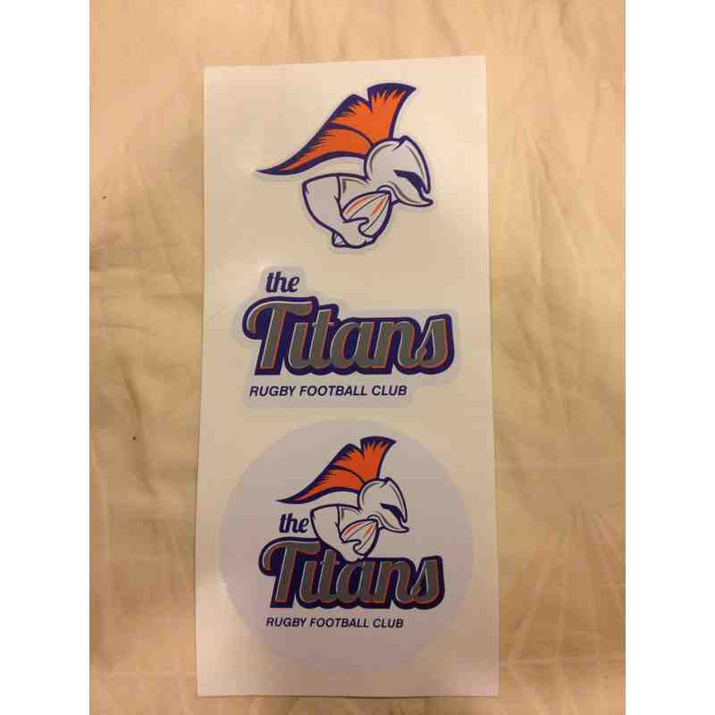 TitansRFC Sticker Set of 3