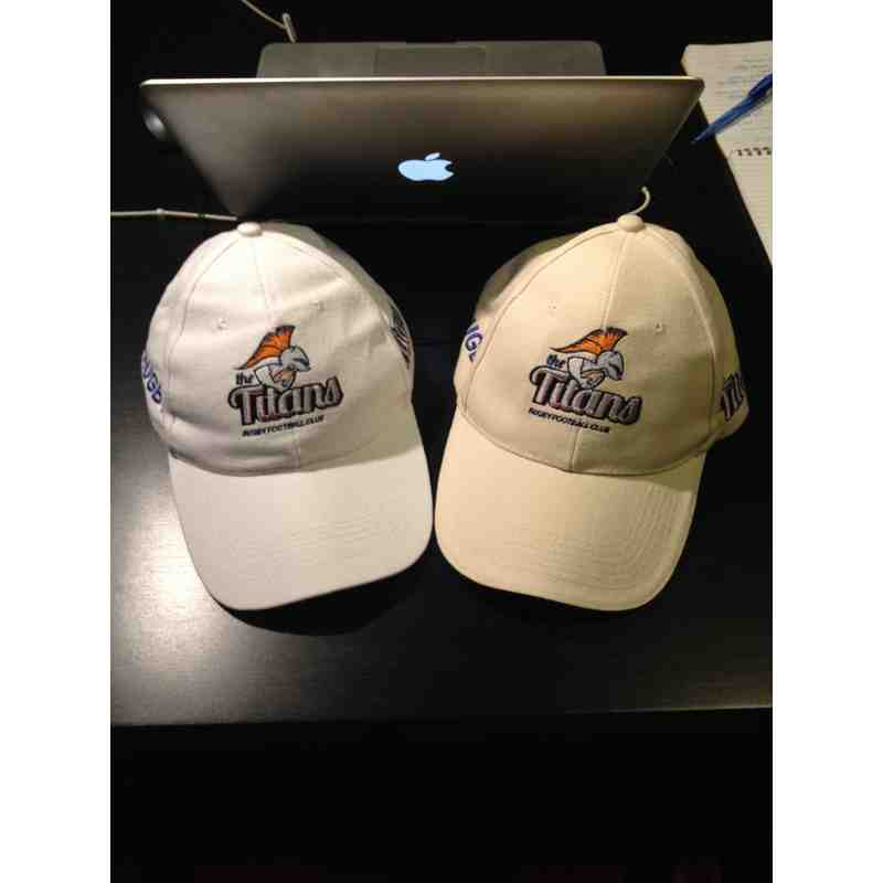 Limited Edition TitansRFC SUPPORTERS Caps (White & Beige)