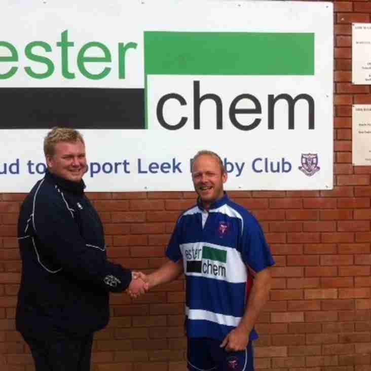 Leek Rugby Club starts the new 2016/17 season with a new head coach.