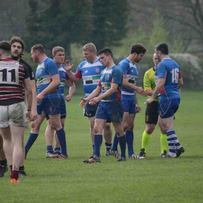 Tamworth 1XV v Leek 1XV - 21-APR-2018