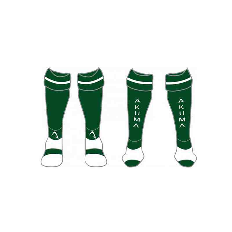 SWRFC - ADULT'S Green Sublimated Playing Socks
