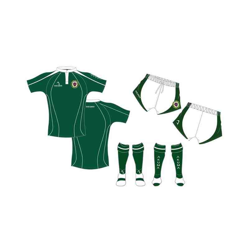SWRFC - CHILDREN'S White/Green Sublimated Playing Kit Bundle OFFER