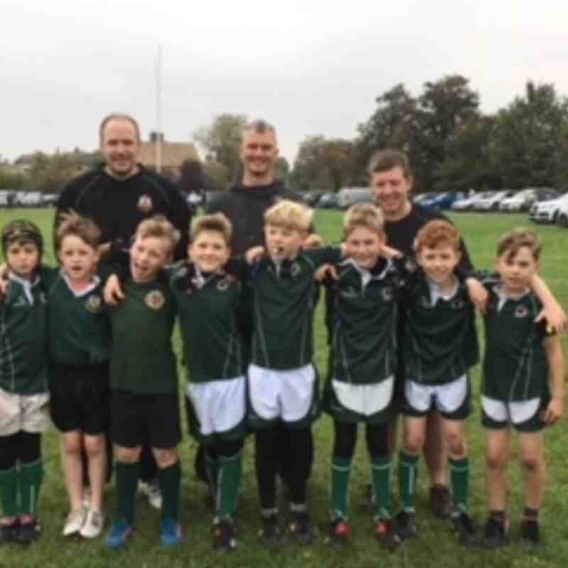 U10 fixture with Cambridge RFC 15/10/17