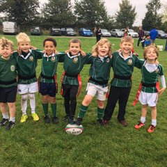 U7 away at Cambridge RFC 15/10/17