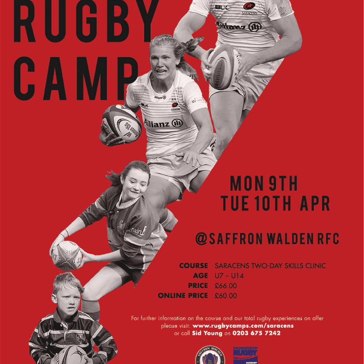 Saracens Easter Camp at Henham
