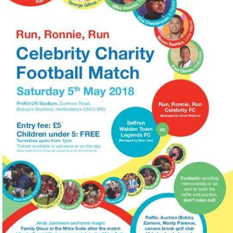 Please support this cause of raising funds for Ronnie.