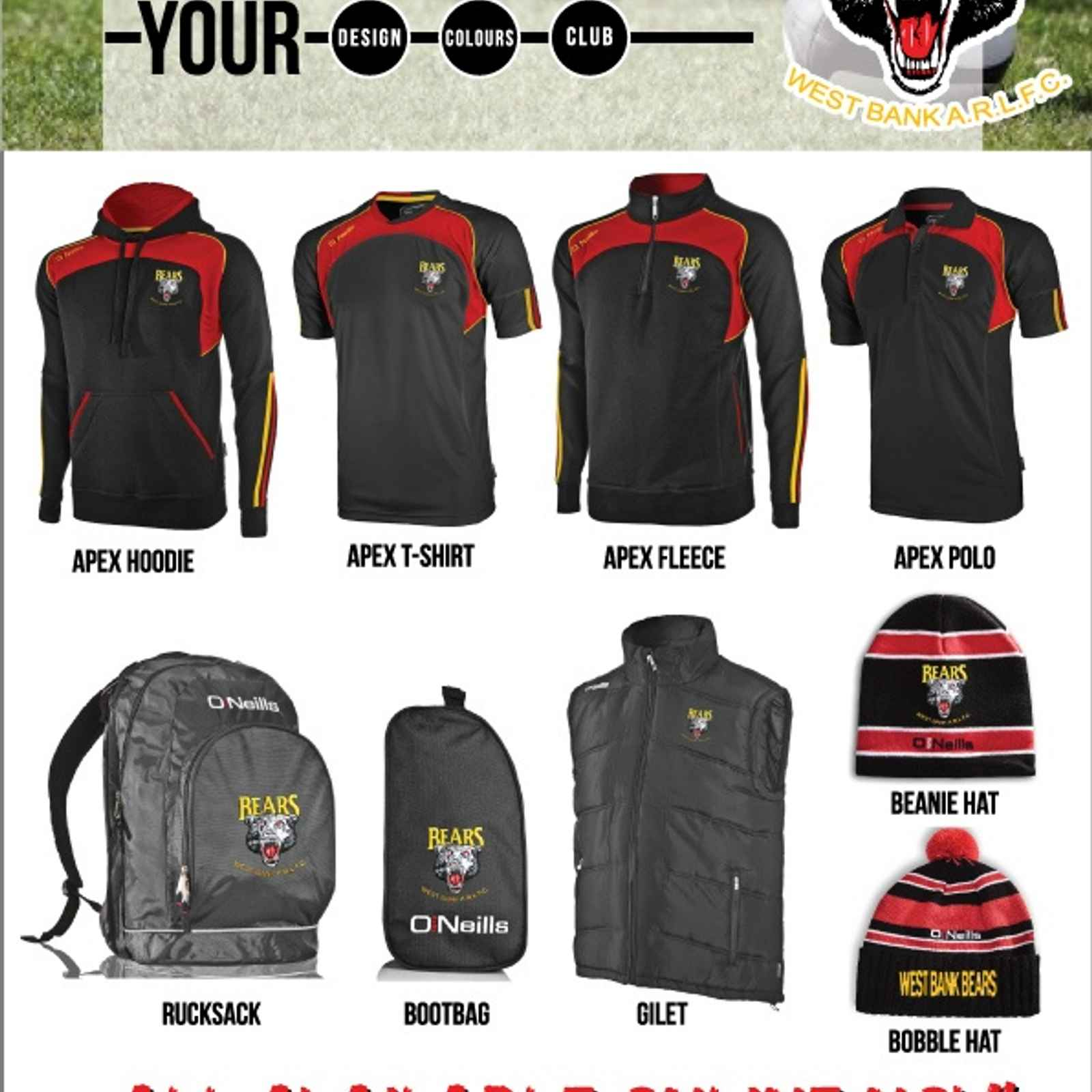 O'Neills Club Shop Now Open