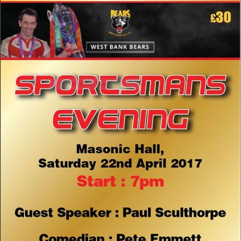 Fundraising Sportsman's Dinner re-scheduled