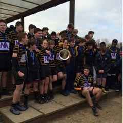 Bromley U15s dominate to win the Kent Plate Final