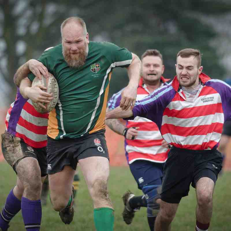 Melbourne 3rd XV (Stags) v South Notts Barbarians 1st - 27 February 2016