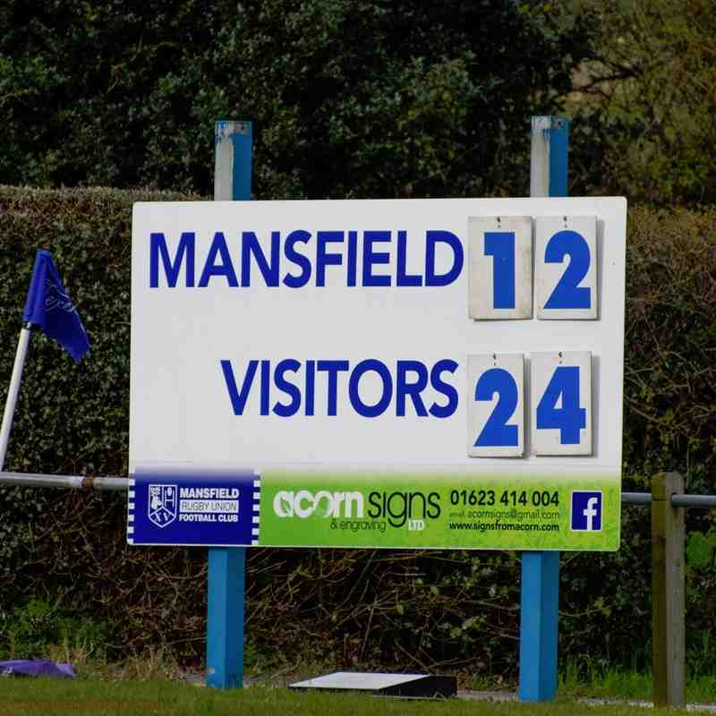 Mansfield v Melbourne 1st XV - 9th April 2016