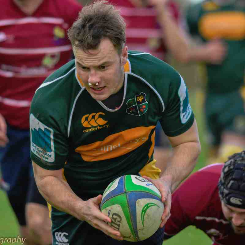 Melbourne v Ashbourne - 5th Nov. 2016