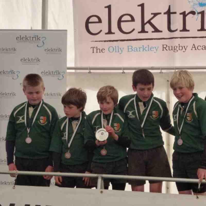 U11 Plate Winners Chippenham Tournament 18/3/12