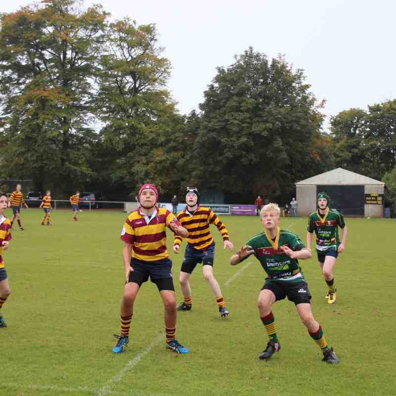Under 15's v St Brendans - 18th October 2015