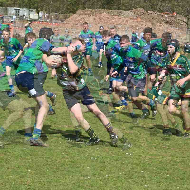 Under 15's v St Bernadette's - 24th April 2016