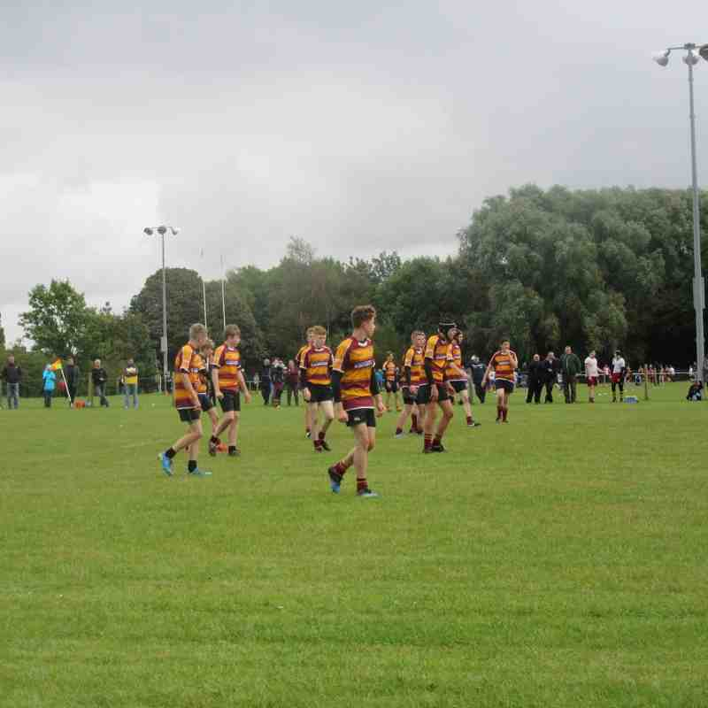 Under 16's v Sedgley Park 25.9.16