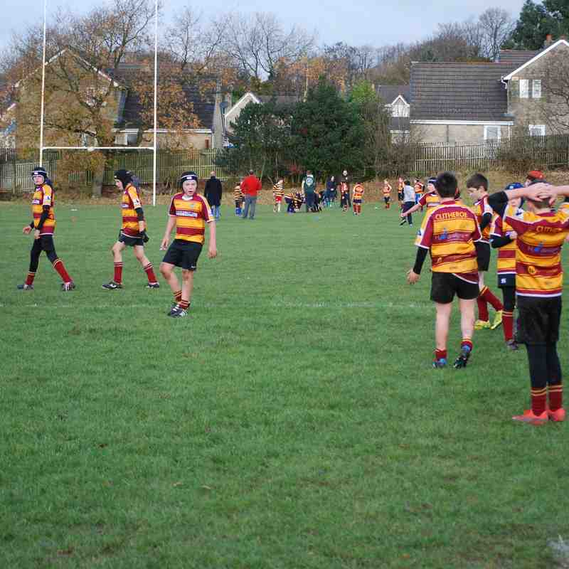 Under 12s vs Burnley 27.11.16