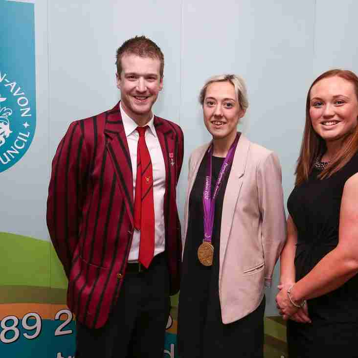 Keates joins her fellow elite at the Stratford-on-Avon District Sports Awards