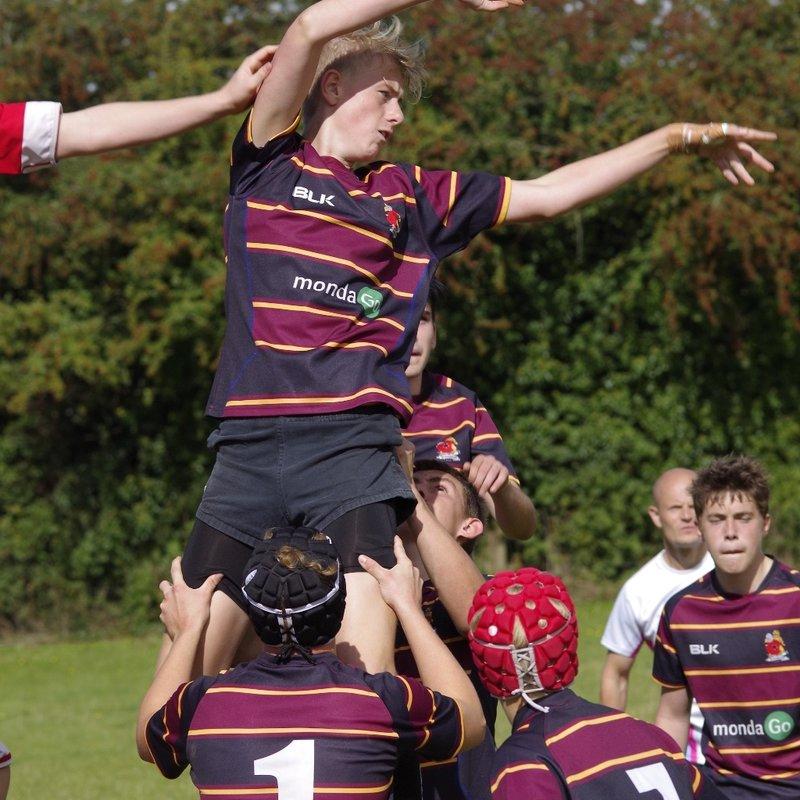 U16 beat Tadley 41 - 5