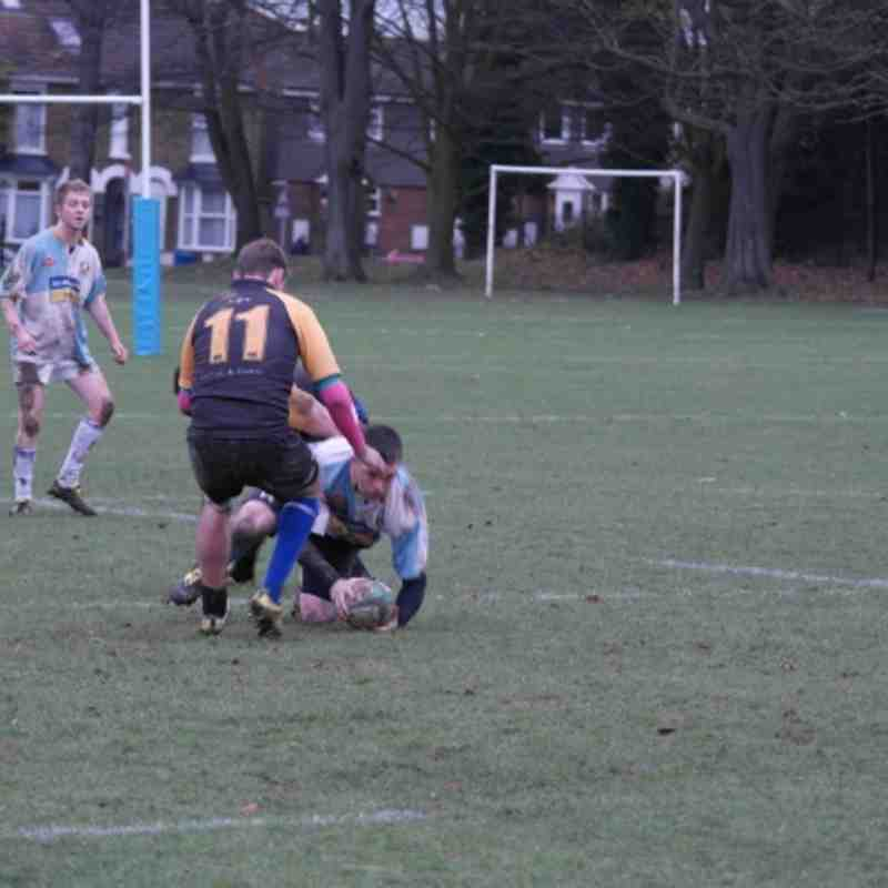 121201 Seconds v Canterbury