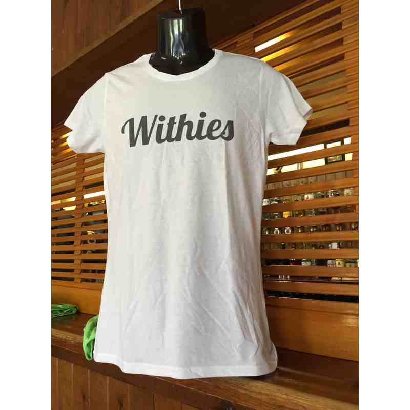 Adult Withies T-Shirts   Green or White available