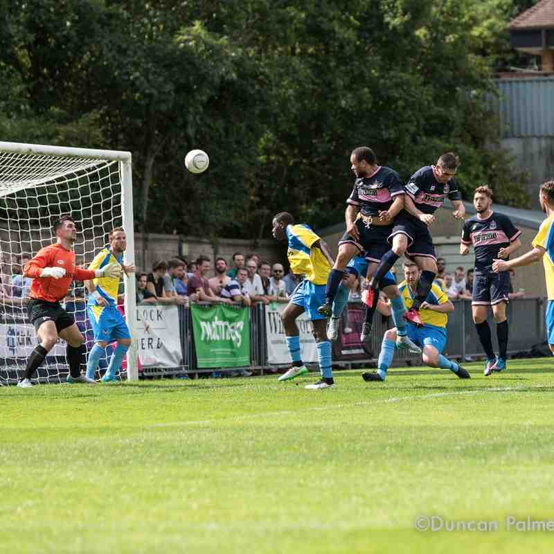 Dulwich Hamlet 3 - 0 Canvey Island, 8th August 2015