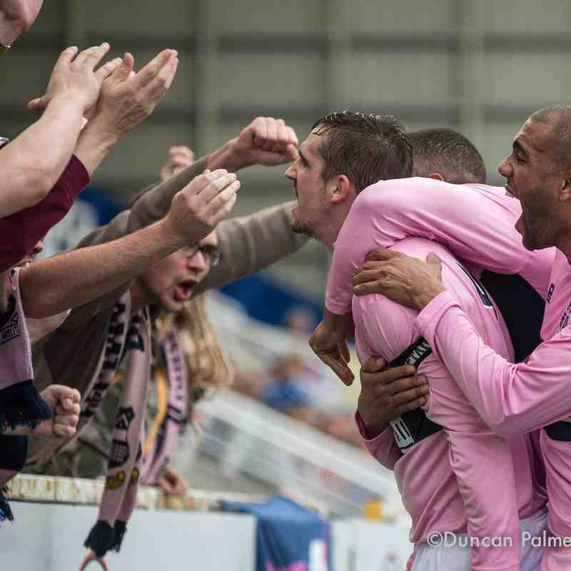 Farnborough 1 - 4 Dulwich Hamlet, 10th October 2015