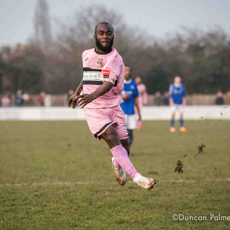 Billericay Town 4 - 1 Dulwich Hamlet, 12th March 2016