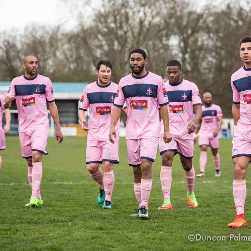 Tonbridge Angels 0 - 0 Dulwich Hamlet, 18th March 2017
