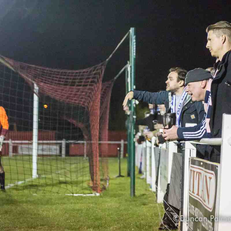 Cray Valley (Paper Mills) 3 - 2 Dulwich Hamlet *AET* (London Senior Cup semi-final), 20th April 2017