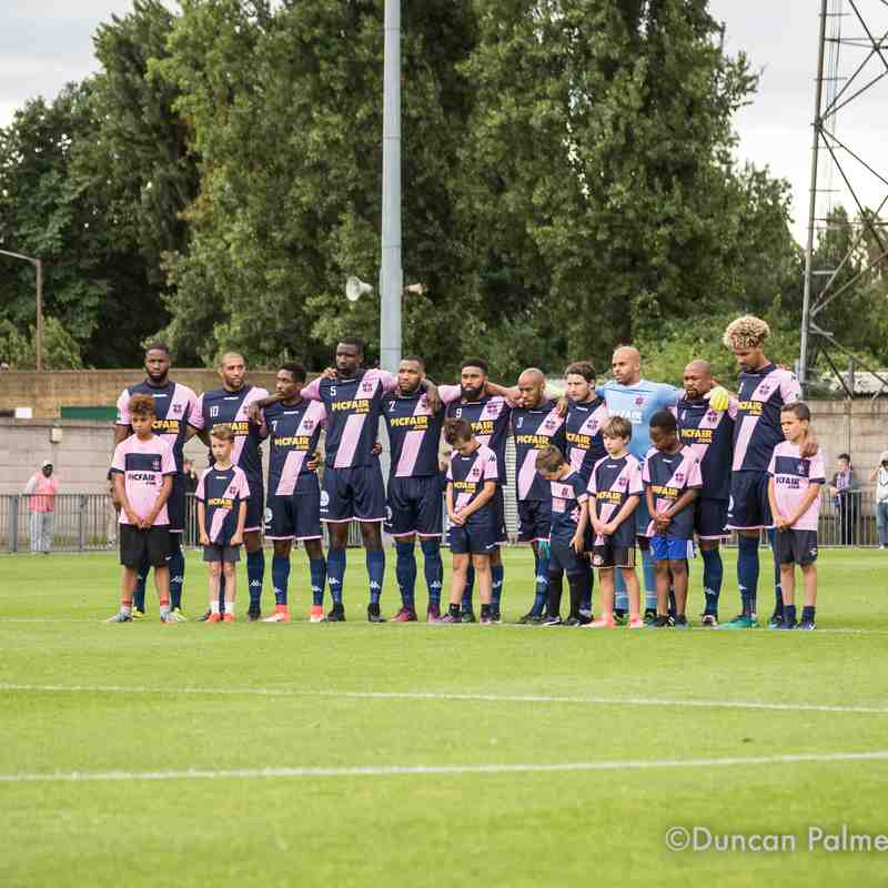 Dulwich Hamlet 1 - 3 Billericay Town, Saturday 19th August 2017