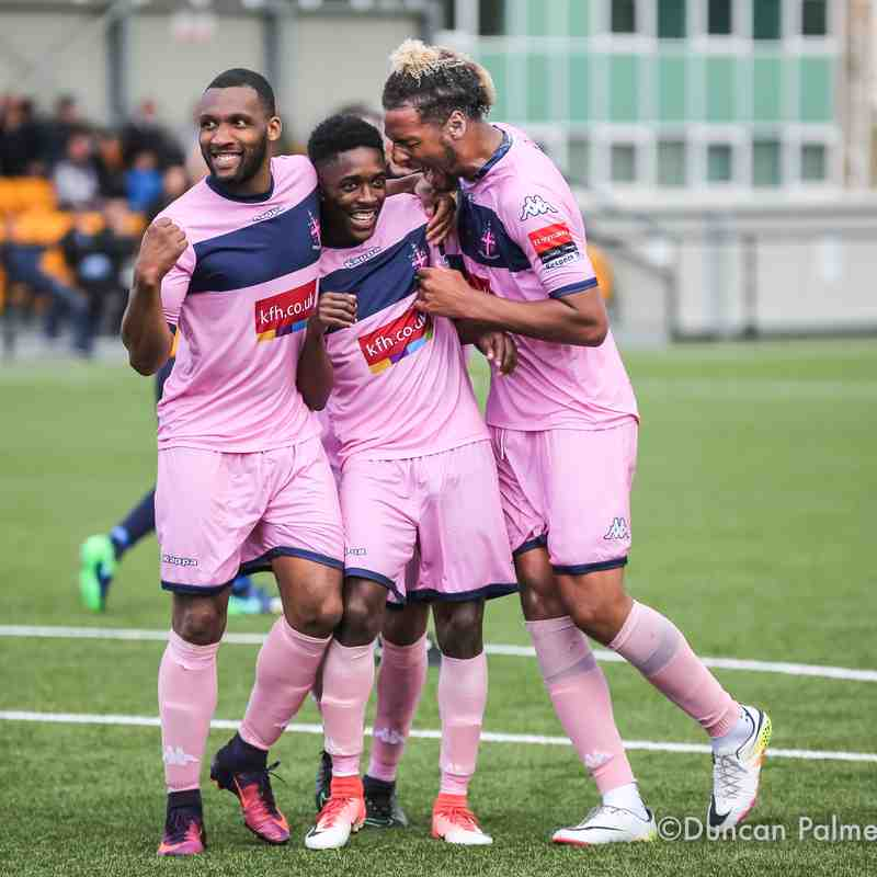 Slough Town 3 - 2 Dulwich Hamlet, 16th September 2017 (FA Cup)