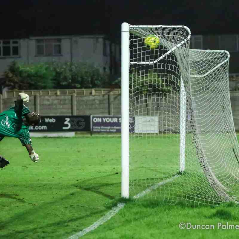 Harrow Borough 0 - 1 Dulwich Hamlet, 26th September 2017