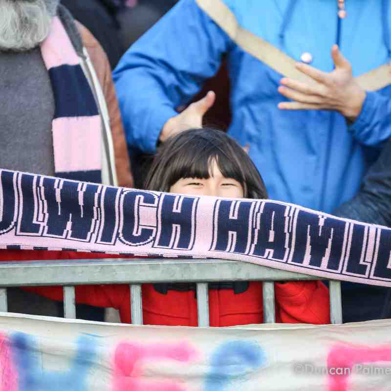 Dulwich Hamlet 3 - 2 Burgess Hill Town, 21st October 2017