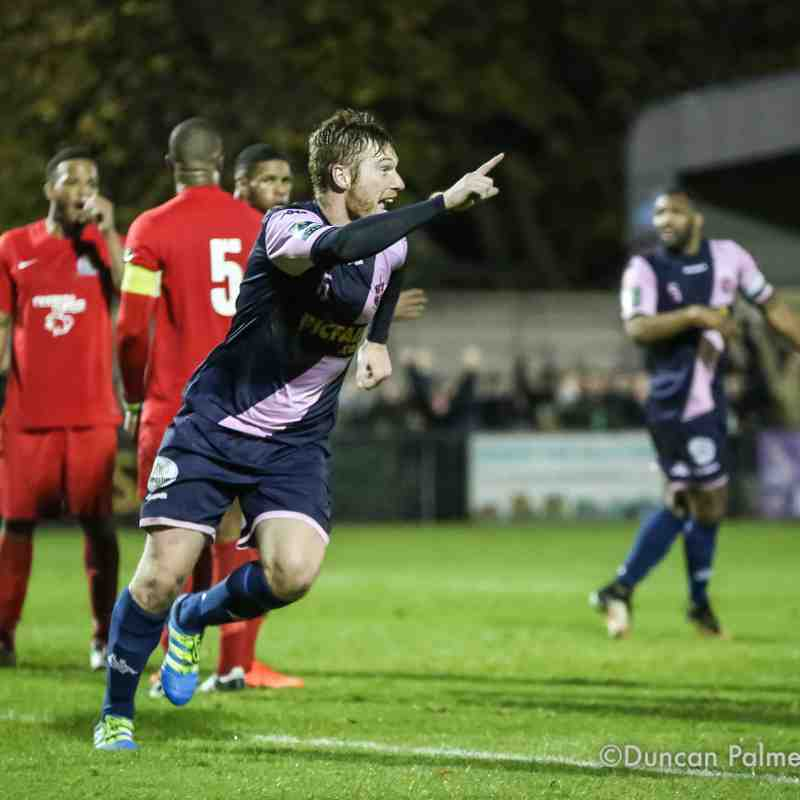 Dulwich Hamlet 2 - 0 Harrow Borough, 14th November 2017