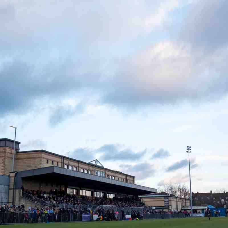 Dulwich Hamlet 4 - 0 Kingstonian, 1st January 2018