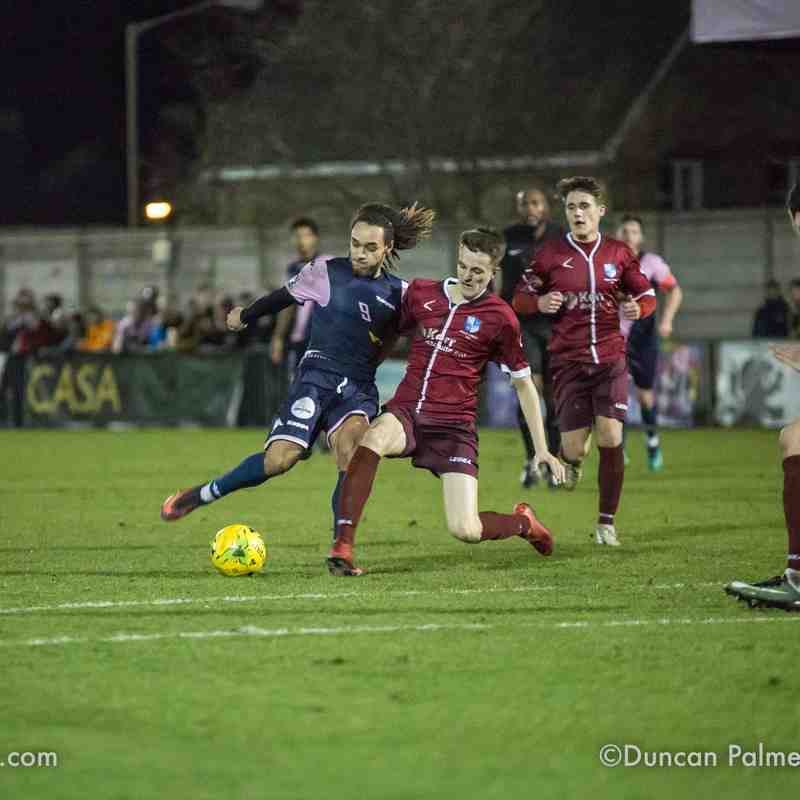 Dulwich Hamlet 1 - 2 Wingate & Finchley, 23rd January 2018